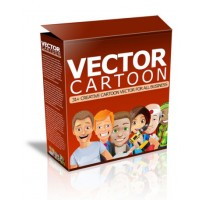 Huge Vector Cartoon Library
