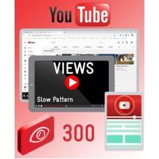 YouTube Views - Natural Pattern